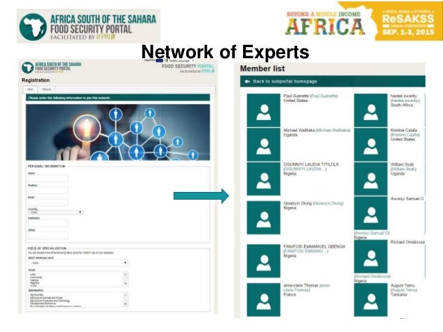 21 Network of Experts