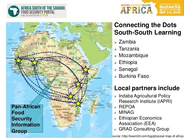 Source: http://beam24.com/tag/physical-map-of-africa Connecting the Dots South-South Learning  Zambia  Tanzania  Mozamb...