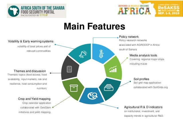 Policy network Policy research networks associated with AGRODEP in Africa south of Sahara Media analysis tools Covering re...