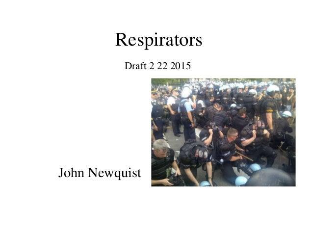 Respirators John Newquist Draft 2 22 2015