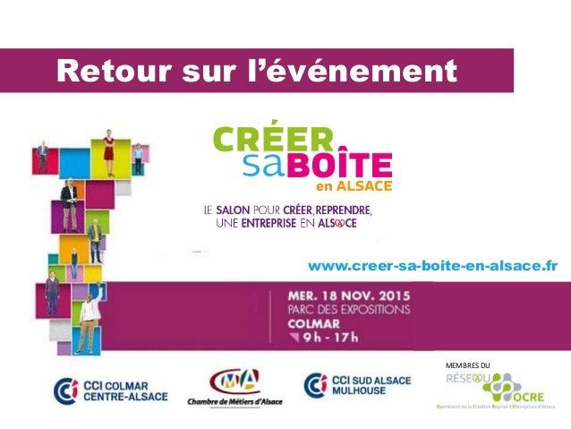 Retour sur l'événement MEMBRES DU www.creer-sa-boite-en-alsace.fr