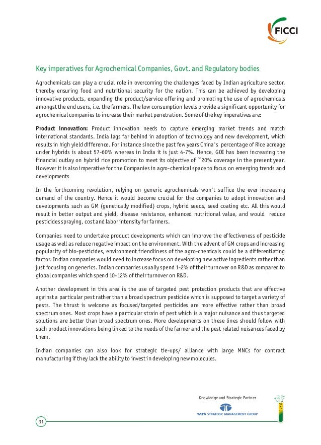 Report on Indian Chemical Industry- Ushering in the 2nd