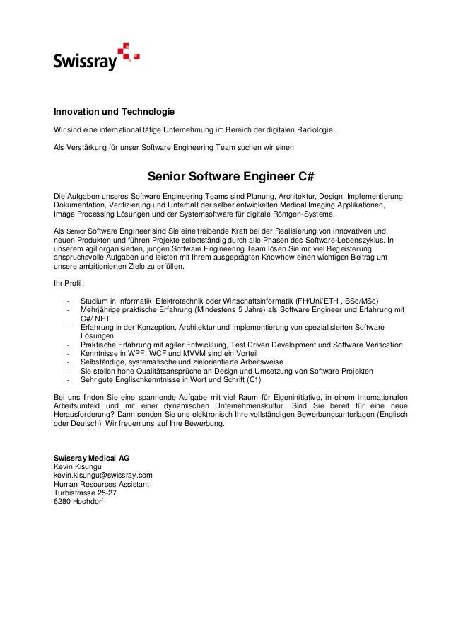 Senior Software Engineer C