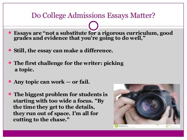 getting a head start on college application essays impact and initia  6