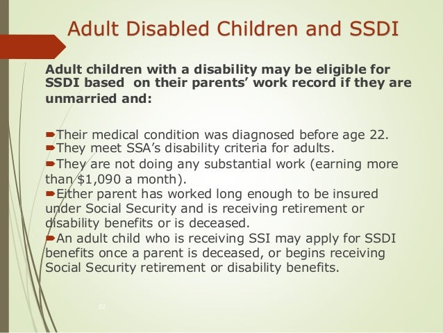 Social Security Disability Insurance Ssdi And