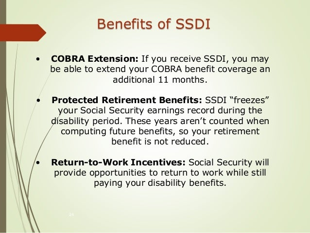 Social Security Disability Insurance (SSDI) and Supplemental Security…