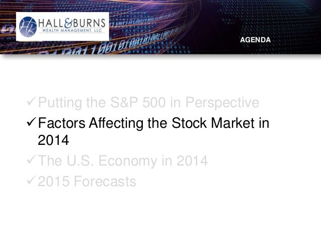 2015 State Of The Markets Presentation Hall Amp Burns Wealth