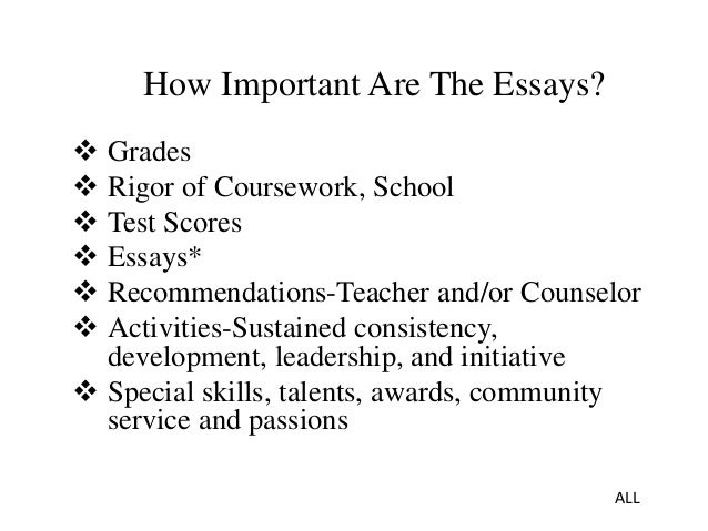 steps to a successful college essay How to write a college essay no lives are riding on your college application essays, this is a great time to revisit some of the rules of writing well.