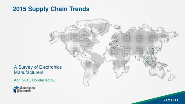 1 April 2015, Conducted by: A Survey of Electronics Manufacturers 2015 Supply Chain Trends