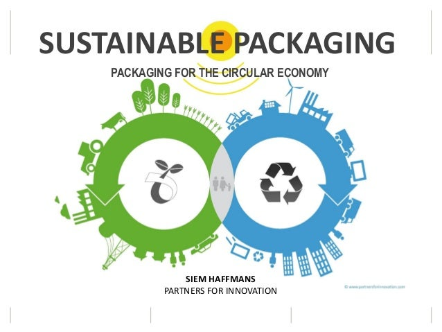 PACKAGING FOR THE CIRCULAR ECONOMY SIEM HAFFMANS PARTNERS FOR INNOVATION SUSTAINABLE PACKAGING