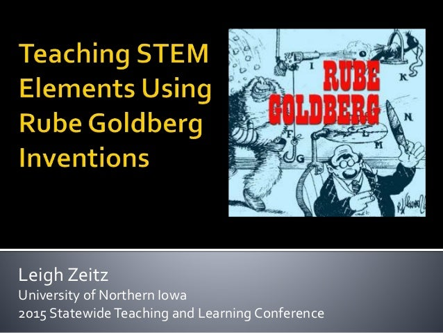 Leigh Zeitz University of Northern Iowa 2015 Statewide Teaching and Learning Conference