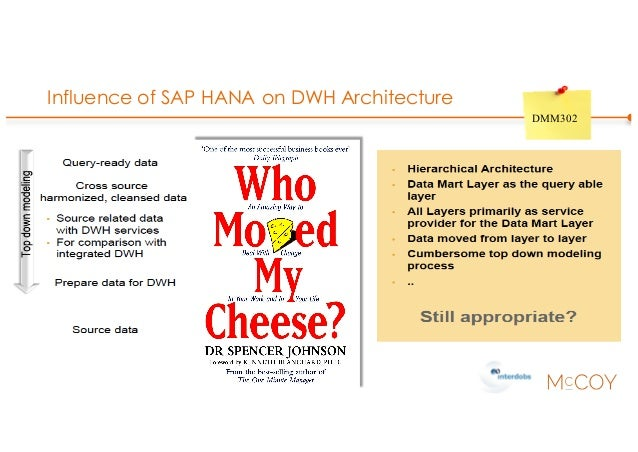 Influence of SAP HANA on DWH Architecture DMM302