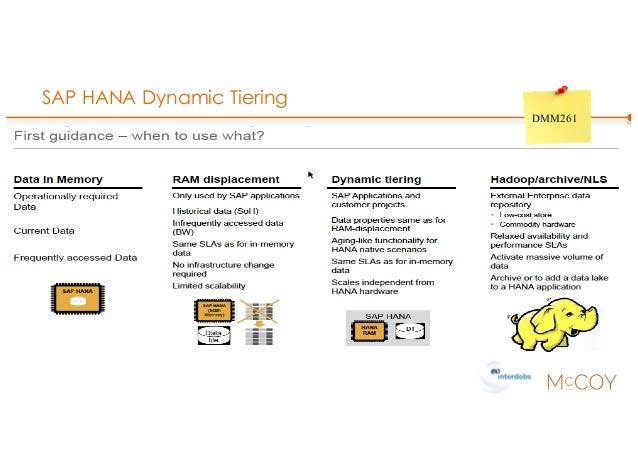 SAP HANA Dynamic Tiering DMM261