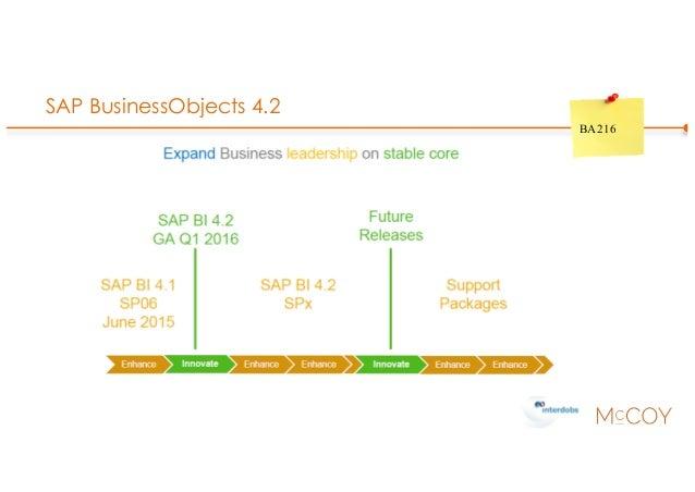 SAP BusinessObjects 4.2 BA216
