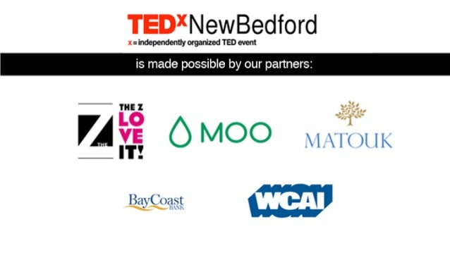 TEDxNewBedford - See Problems as Opportunities Slide 2