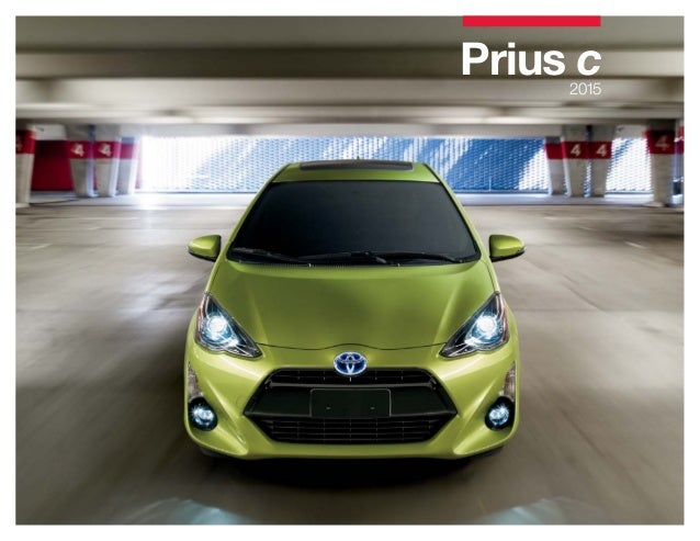2015 toyota prius c brochure vehicle details specifications los ang. Black Bedroom Furniture Sets. Home Design Ideas