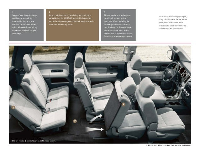 toyota sequoia brochure vehicle details specifications los ang