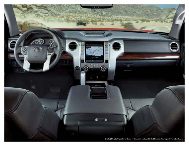18. Limited Double Cab Interior ...
