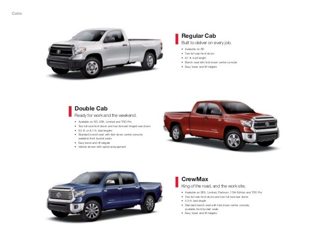 2015 toyota tundra brochure vehicle details & specifications los ange…
