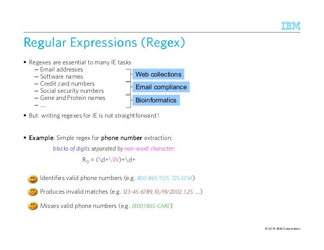 Writing regular expressions
