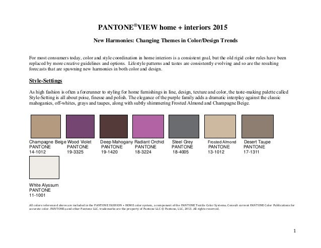 2015 trending home interior colors and hues