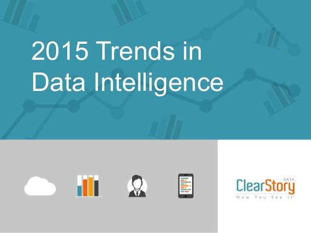 2015 Trends in Data Intelligence