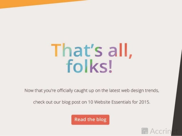 Top 10 Web Design Trends for 2015