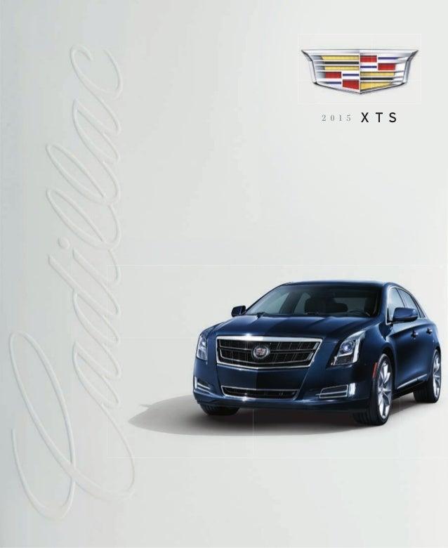 2015 Cadillac XTS Sedan eBrochure