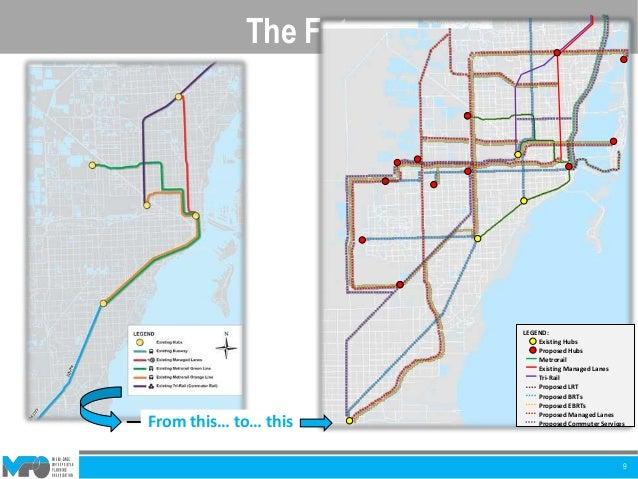 Palmetto Metrorail Station To  Th Miami Beach