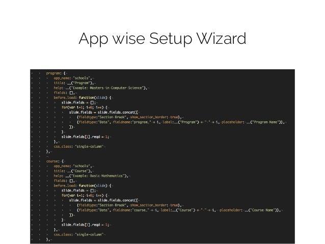 Schools Setup Wizard Revamp