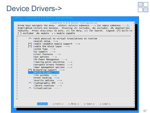 Device Drivers-> Shinya T-Y, NAIST 57