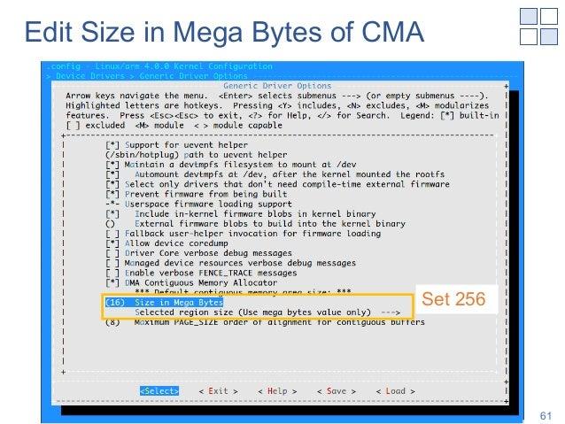 Edit Size in Mega Bytes of CMA Shinya T-Y, NAIST 61 Set 256