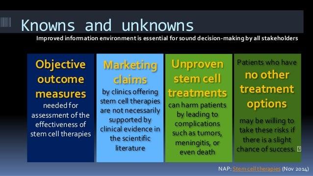 Stem cells: Information environment