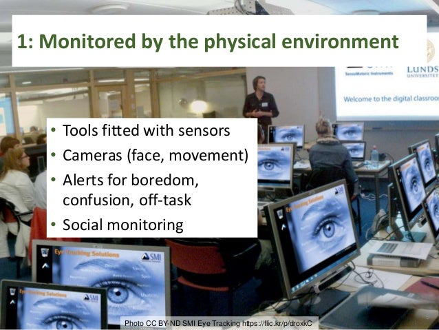 2: Personal data tracking supports learning • Sensors for posture, attention, rest, stress, blood sugar, metabolic rate, …...