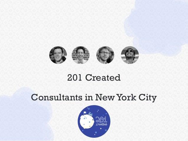 201 Created Consultants in NewYork City