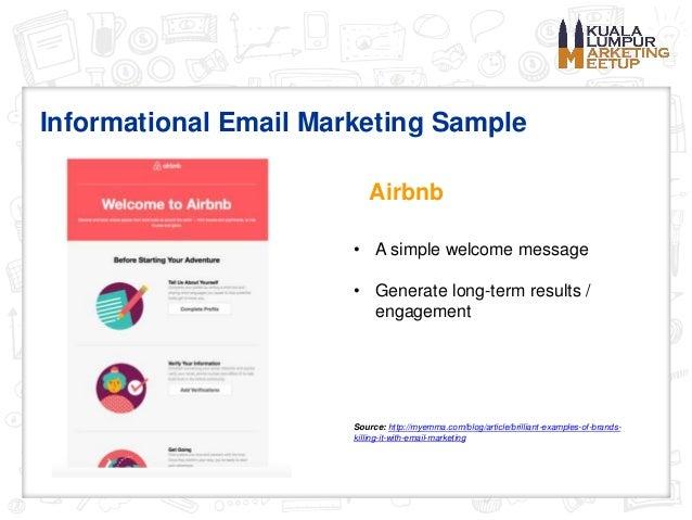 2016 Email Marketing Best Practices - Kuala Lumpur Marketing Meetup