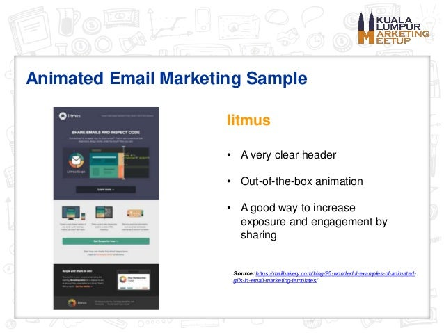 2016 Email Marketing Best Practices - Kuala Lumpur Marketing Meetup