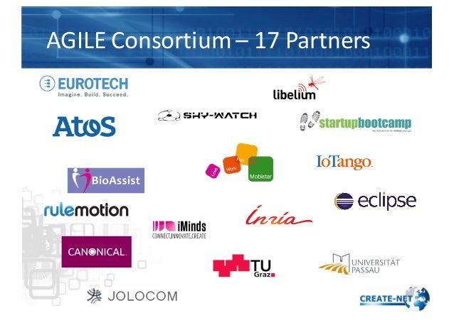 AGILE  Consortium  – 17  Partners