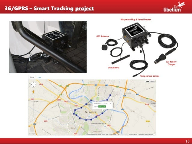 10 3G/GPRS – Smart Tracking project