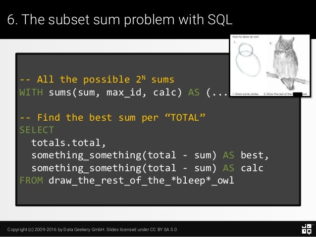 10 SQL Tricks that You Didn't Think Were Possible Slide 145