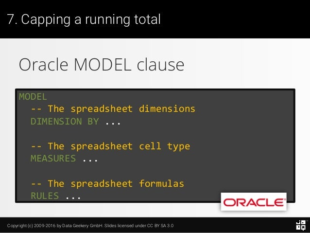 10 SQL Tricks that You Didn't Think Were Possible Slide 178