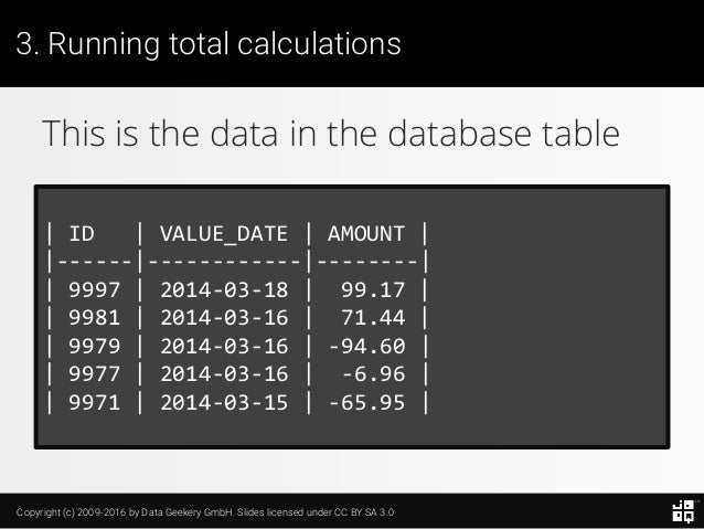 10 SQL Tricks that You Didn't Think Were Possible Slide 80