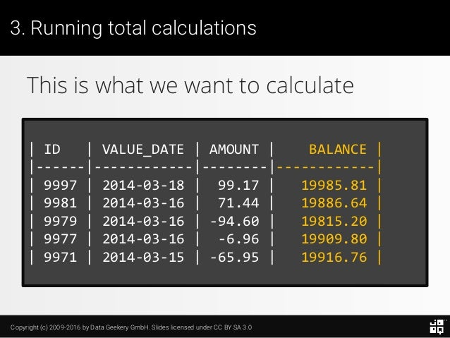 10 SQL Tricks that You Didn't Think Were Possible Slide 81