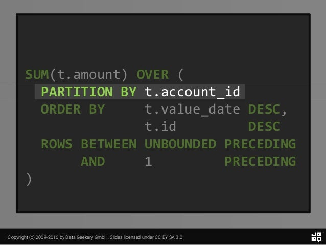 10 SQL Tricks that You Didn't Think Were Possible Slide 84