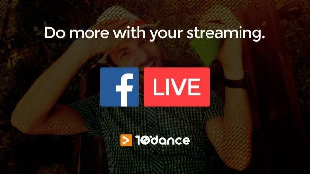 Transmissão para o Facebook Live com qualidade profissional.