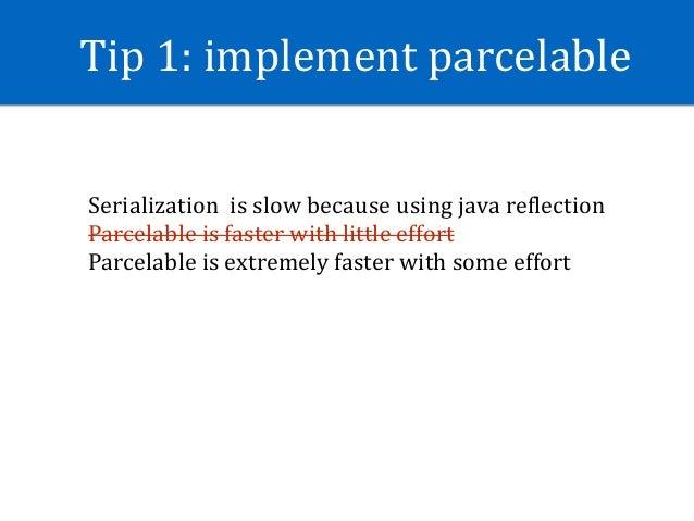 Tip2:Avoidinternalgetter/setter •WithoutJIT,directKieldaccessis3xfasterthangetter/setter •WithJIT,directK...