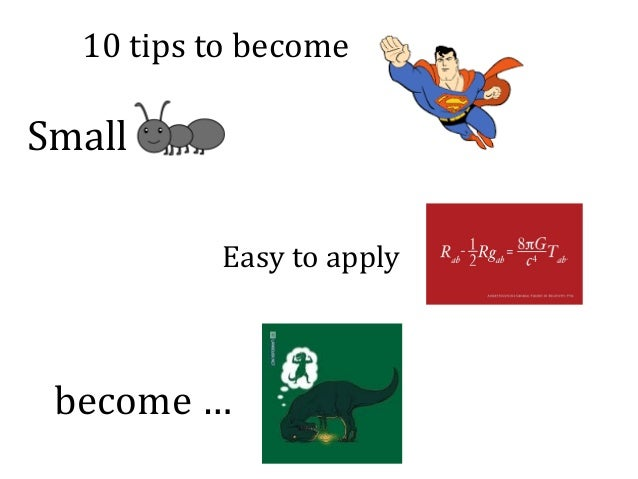 10tipstobecome Small Easytoapply become…