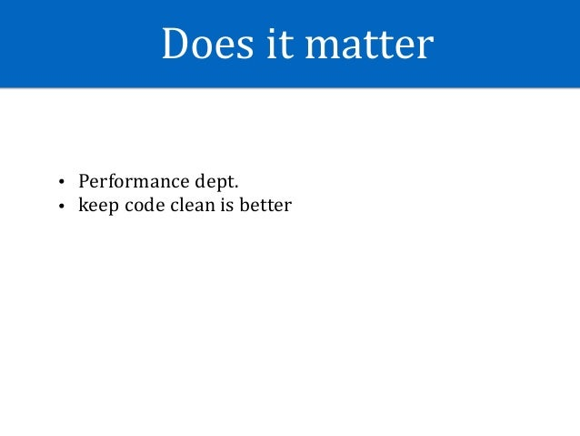 Android Performance Tips