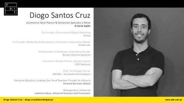 Diogo Santos Cruz eCommerce Store Planner & Conversion Specialist, e-Retail El Corte Inglés Co-Founder, eCommerce & Digita...