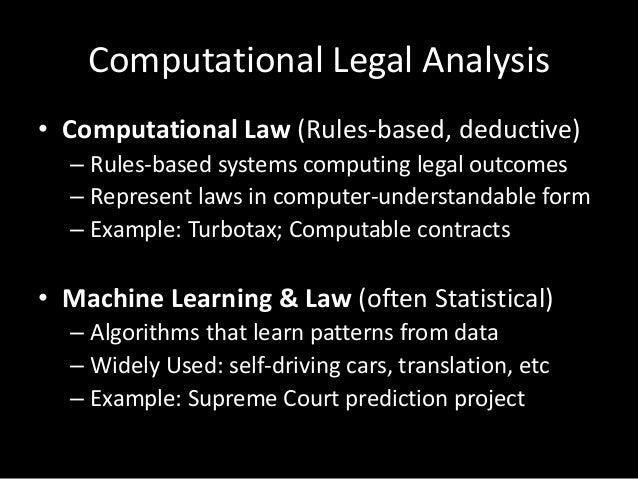 Open Legal Data Workshop at Stanford Slide 3